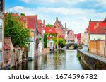 Beautiful Canal And Traditional ...