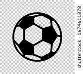Simple Football Ball  Sport...