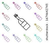 champagne multi color style...