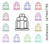 online meeting multi color...