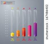 abstract 3d digital...   Shutterstock .eps vector #167486402