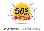 sale discount icons. special... | Shutterstock .eps vector #1674939412