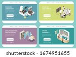 pharmaceutical production side... | Shutterstock .eps vector #1674951655