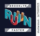 design vector run faster for t... | Shutterstock .eps vector #1675009525