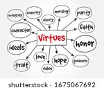 Virtues Mind Map  Concept For...