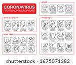 coronavirus pandemic... | Shutterstock .eps vector #1675071382