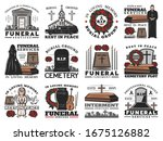 Funeral Coffin  Cemetery...