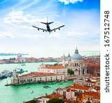View Of Venice And Grand Canal...