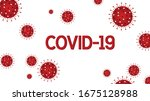 corona virus covid 19... | Shutterstock .eps vector #1675128988