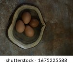 Chicken Egg Or Laid By Female...