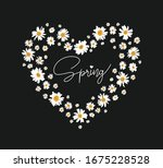 daisy drawing lines on the... | Shutterstock .eps vector #1675228528