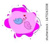 bird  love  heart  valentine s...