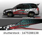vehicle graphic kit vector....   Shutterstock .eps vector #1675288138