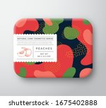 peaches bath cosmetics package...