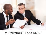 contract on good conditions.... | Shutterstock . vector #167543282