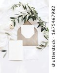 summer wedding stationery mock...   Shutterstock . vector #1675467982