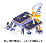 mobile banking landing page...