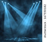 background in show. interior... | Shutterstock . vector #167550182