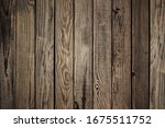 Old Brown Wooden Background....