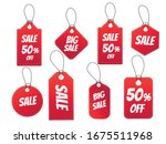 set of sale tags. special offer ... | Shutterstock .eps vector #1675511968
