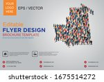 poster and flyer design with... | Shutterstock .eps vector #1675514272