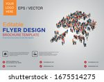 poster and flyer design with... | Shutterstock .eps vector #1675514275