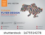 poster and flyer design with... | Shutterstock .eps vector #1675514278