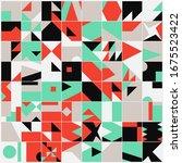 universal shapes set for... | Shutterstock .eps vector #1675523422