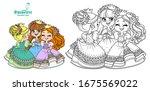 Three Cute Princesses In...