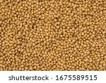 soy beans texture top view full ... | Shutterstock . vector #1675589515