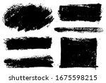 brush strokes. vector...   Shutterstock .eps vector #1675598215