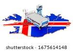 intensive care unit icu in...   Shutterstock . vector #1675614148