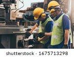 Industry Engineer Team Worker...