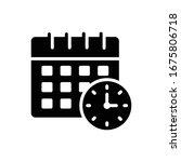 schedule vector style...   Shutterstock .eps vector #1675806718