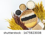 Autumn Harvest Of Whole Grains  ...
