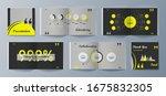 presentation modern vector... | Shutterstock .eps vector #1675832305