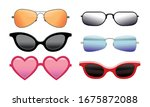 collection of colorful... | Shutterstock .eps vector #1675872088