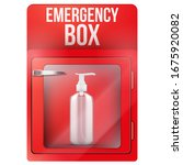 emergency box with toilet roll...   Shutterstock .eps vector #1675920082