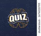 quiz icon and logo ui design