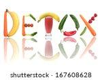 detox  | Shutterstock . vector #167608628