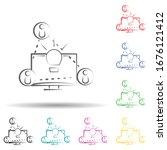 share ideas multi color set...