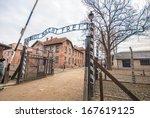 Entrance Gate To Auschwitz...