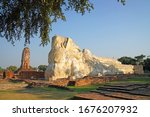 temple of the biggest reclining ... | Shutterstock . vector #1676207932