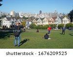 san francisco usa   october 4... | Shutterstock . vector #1676209525