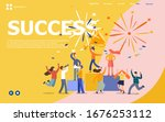 vector illustration . new... | Shutterstock .eps vector #1676253112