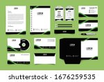 corporate identity set.... | Shutterstock .eps vector #1676259535