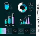 set elements of info graphics