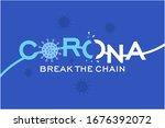 corona virus  covid 19  break... | Shutterstock .eps vector #1676392072