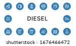 set of diesel icons. such as... | Shutterstock .eps vector #1676466472