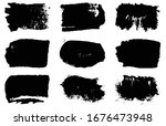 collection of vector grunge... | Shutterstock .eps vector #1676473948